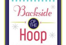 Backside of the Hoop Interviews / Have you ever wondered what the backside of an embroidery artist's hoop looks like? Or what their behind the scenes process looks like? As an embroidery artist, I'm intrigued by how other artists finish their hoops, what their creative process is, and what their behind the scenes space looks like. I decided to put together this monthly feature to showcase the different embroidery, cross stitch, and other needle artists out there so we could all learn more about the backsides of their hoops!