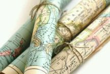 Pretty Maps / Map Crafts