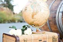 Travel-Inspired Home Decor / Travel-Inspired Home Decor