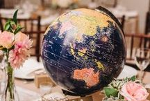 Travel-Inspired Party Decorations / Travel-Inspired Party Decorations
