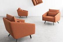 STUA COSTURA SOFA / Costura sofa collection, a Jon Gasca design for STUA. Includes: sofa, armchair, chaiselongue and ottoman.