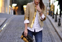 Fashion / All things fashion inspired, including: interesting fabric combinations, new trends, great tailoring and fabulous handbags.  / by Sarah Bauer