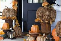 Autumn Ideas / I LOVE Autumn/Fall and just can't seem to get my fill on all the beautiful projects and decor ideas being shared out there!