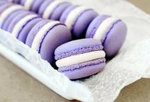 Purple cakes / Une sélection de purple cakes, des pâtisseries violettes