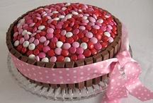 Gâteaux bonbons / Des gâteaux gourmands en forme de bonbons ou réalisés avec des bonbons