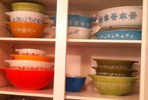 My obsession...vintage pyrex / My love for vintage pyrex / by Chrysteana Eigenbrode