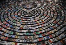 Rubbish Decor Festival / Festival decor made from waste!