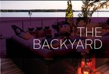 The Backyard / Your playground, your favorite BBQ spot, your relaxation space and your lounge - what's better than your home backyard? Here are some awesome design ideas and DIYs for your backyard. Turn it into an oasis or a playground, we've got it all.