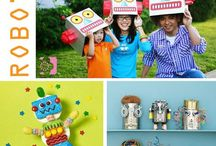 robots / Robot party ideas & robot stuff / by Chrysteana Eigenbrode