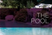 The Pool / Sunny Southern California has great weather year-round which means many homes here have their own pool. Here is some great inspiration on how to turn your backyard pool into a peaceful oasis suited for your and your family.