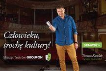 Człowieku trochę kultury! / Ponad 40 teatrów, 100 sztuk i 1000 biletów znajdziesz tu: http://gr.pn/1rKIUoU