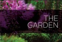 The Garden / Create an oasis in your garden with these design ideas, gardening tips, landscaping advice and much more. Your flowers will be blooming and your curb appeal will seriously benefit. Even if you don't have a green thumb, we have tons of tips and advice to get your garden blooming.
