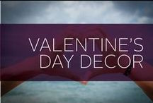Valentine's Day Decor / Valentine's Day is a great way to show your love for friends, family and your special someone. Ladies, get inspired for you V-Day outfit or party decor from our pins. Guys, use our romantic ideas for inspiration on what to get your lady and how to surprise her!