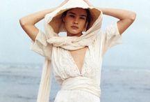 White linen Dress_women