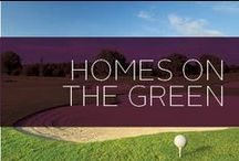 Homes on the Green / August is National Golf Month and we have tons of gorgeous properties that are located on or near golf courses. Here is a collection of those properties, plus some golf facts and hacks! Share with us what your favorite golf courses or properties are!