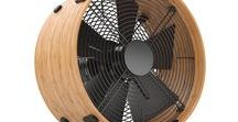 Otto the fan by Stadler Form / - Unique bamboo frame - Three power levels - Easy cleaning of fan blades