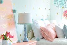 Gracie's room ideas / Decor for girls