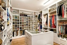 cupboards and closets / by Emma .
