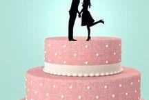 Décor gâteaux- figurines pièces montées cake toppers / Trouvez des idées pour décorer vos gâteaux de mariages