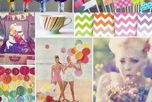 Thème mariage : couleurs acidulées / Apportez du pep's et de la couleur à votre mariage!
