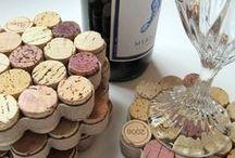 Thème mariage : la vigne et le vin / Voici un tableau rempli de pleins d'idées pour décorer votre mariage sur le thème du vin et de la vigne!