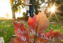 Thème mariage : couleurs d'automnes / Inspirez-vous et mariez-vous en automne!