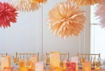 Thème mariage : couleurs d'été / Apportez de la couleur à votre mariage grâce à toutes ces belle idées colorées!