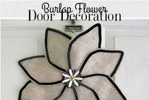 DIY decor / Do-it-yourself decor for the home