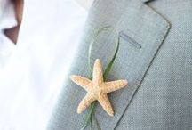 Thème mariage la mer / Vous aimez la mer, le sable chaud et les poissons.... Décorez votre mariage avec toutes ces belles idées!