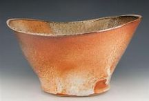 Clay + Color | Vessels / Mostly traditional functional forms ... cups and bowls ...color to have and to hold / by Jill Morton