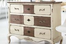 DRESSERS / Upcycled dressers & a few buffets :) / by Cynthia Stevens-Walston