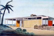 If I Built A Mid-Century Eclectic Home…..