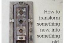 Refinishing and Repurposing