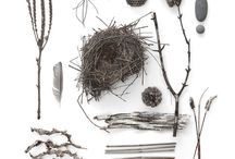 Artfully Arranged / Objects can be strewn hither and yon. But with some artful arranging, well, you can create what anyone's eyes eyes will alight upon and then long to see again and again.