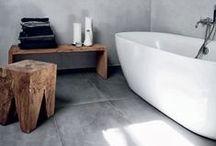 Bathrooms - HOME SWEET HOME / Bathrooms  / by CJ