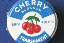 Vintage Cherry! / Old #products and #polish tins - reminding you of your #childhood!