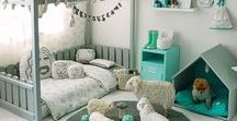 Kids Room / Kids room: DIY tips and Organizational Ideas  and Design Tips for Nursery, Babies, Girl's Bedroom, Boy's Bedroom, Toys, Crib, Kid's Space, Playroom.