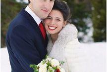 Se marier à la montagne en hiver