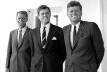 """The Kennedys / """"If we cannot end now our differences, at least we can make the world safe for diversity. For, in the final analysis, our most basic common link is that we all inhabit this small planet. We all breathe the same air. We all cherish our children's future. And we are all mortal.""""  ― John F. Kennedy"""