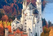 DREAMY ♘ CASTLES / BUY, DESIGN, BUILD, STAY AT, OR TOUR A CASTLE... / by Terri Lynn Heger ♕