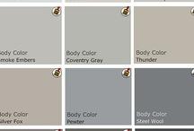 Paint & Colour Schemes
