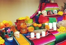 """Día de los Muertos a mi Manera Pin & Win Board."""" / by Isabel Holliman"""