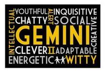 Gemini (Zodiac) / by KDT (Ms. Complex)
