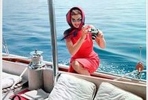 Jackie In Capri / One of our key themes for Spring '15, inspired by—whom else?—Jackie O. / by Jonathan Adler