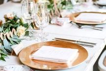 tablescapes + place settings / place setting shots that make us hungry for good friends and good food.