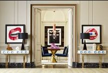 Foyers & Entryways / Entryway style, inspiration and decor dedicated to art of creating a grand entrance. Entré vous! / by Jonathan Adler