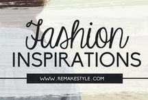 Fashion Inspirations / Fashion ideas and inspirations from fashion blogs, bloggers, fashion weeks and fashion shows.