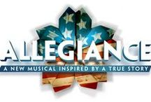 "Allegiance - A New Musical / Inspired by the true-life experience of its star George Takei (""Star Trek,"" ""Heroes""), Allegiance follows one family's extraordinary journey in this untold American story.  / by George Takei"
