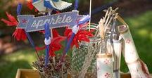 Patriotic Theme Party Ideas / 4th of July, Memorial Day or any other Patriotic theme party ideas