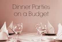 Dinner Party Planner / Decor, Food, & Party Ideas / by Laura Goetzke